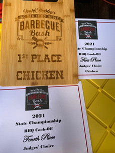 Scotts BBQ Shack 1st Place Chicken