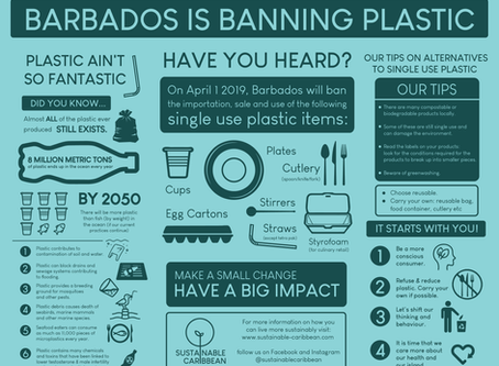 Barbados is banning plastic!