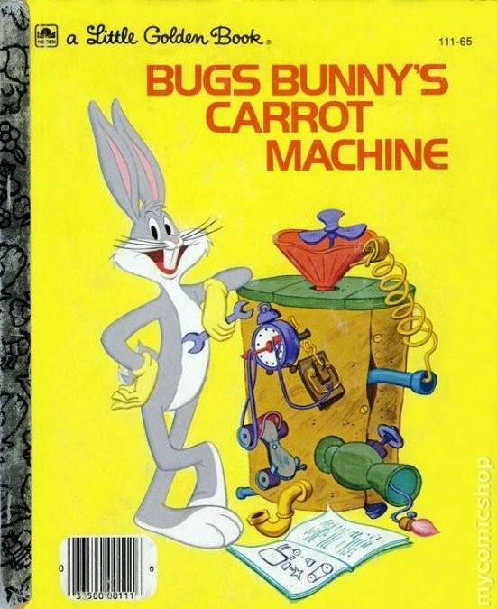 Omslag för boken Bugs Bunny´s Carrot Machine