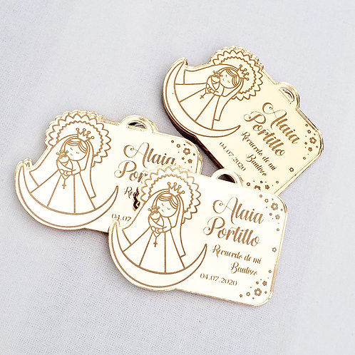 MIRROR FINISH - FAVORS TAGS