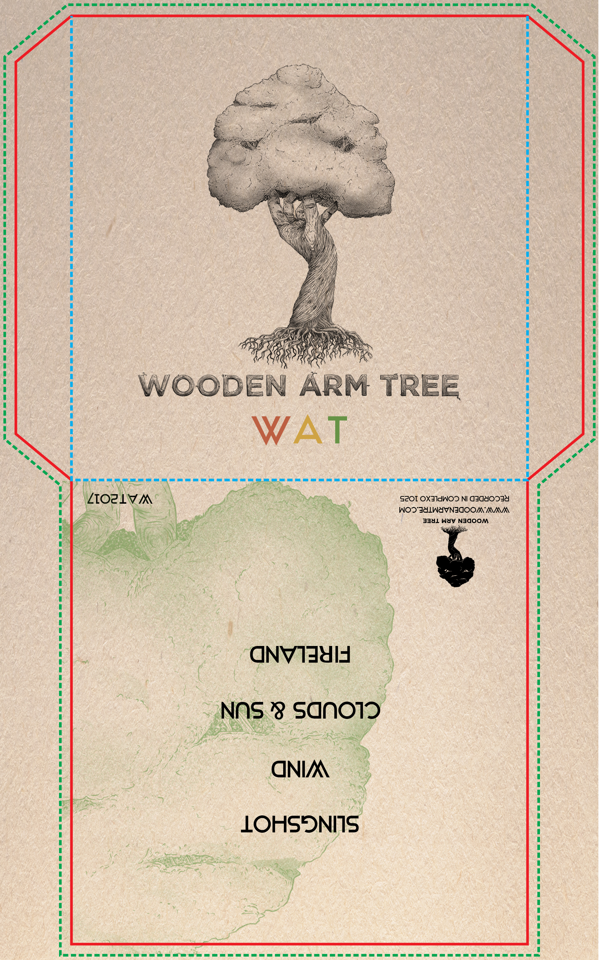 Wooden arm tree cover