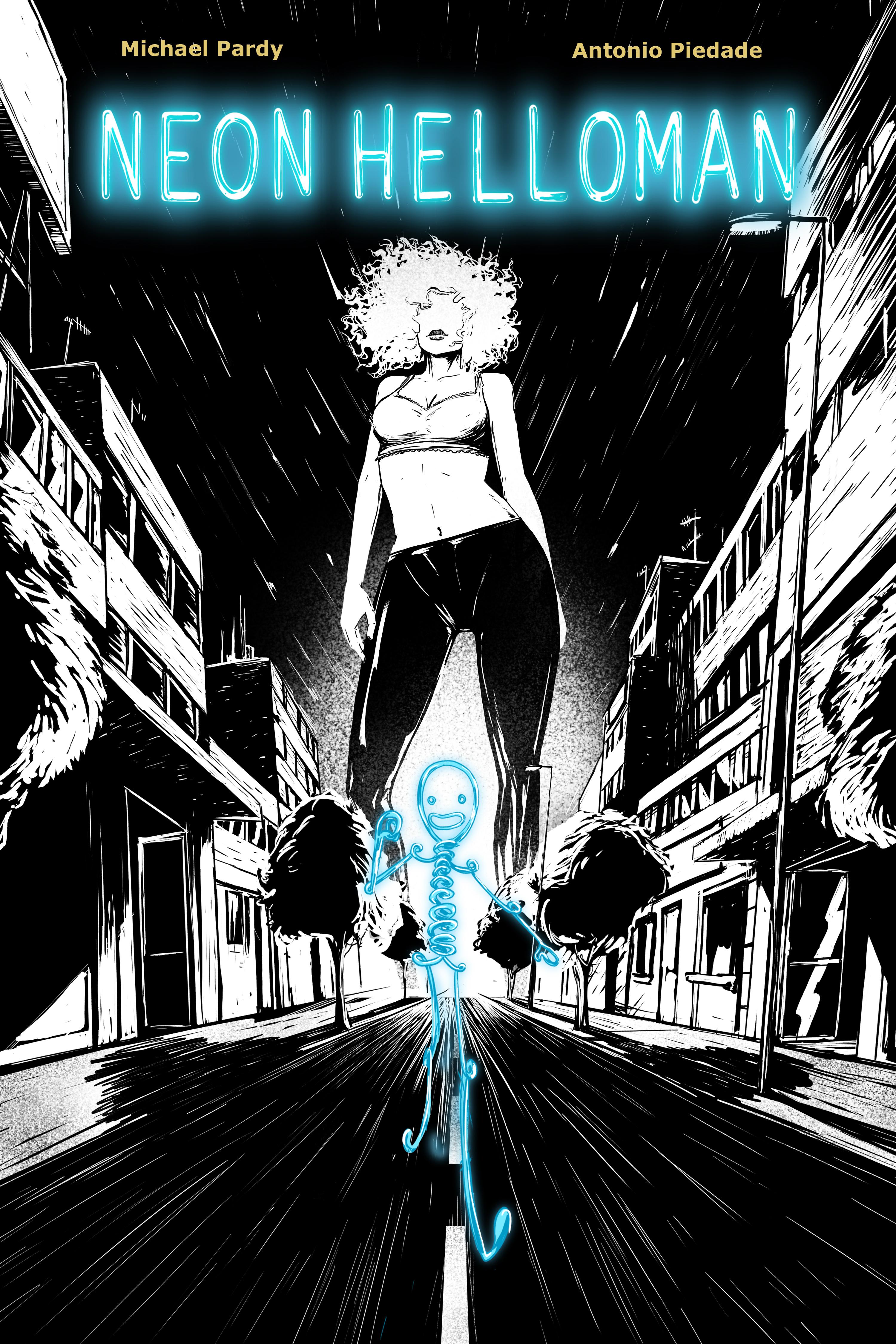 cover Neon helloman