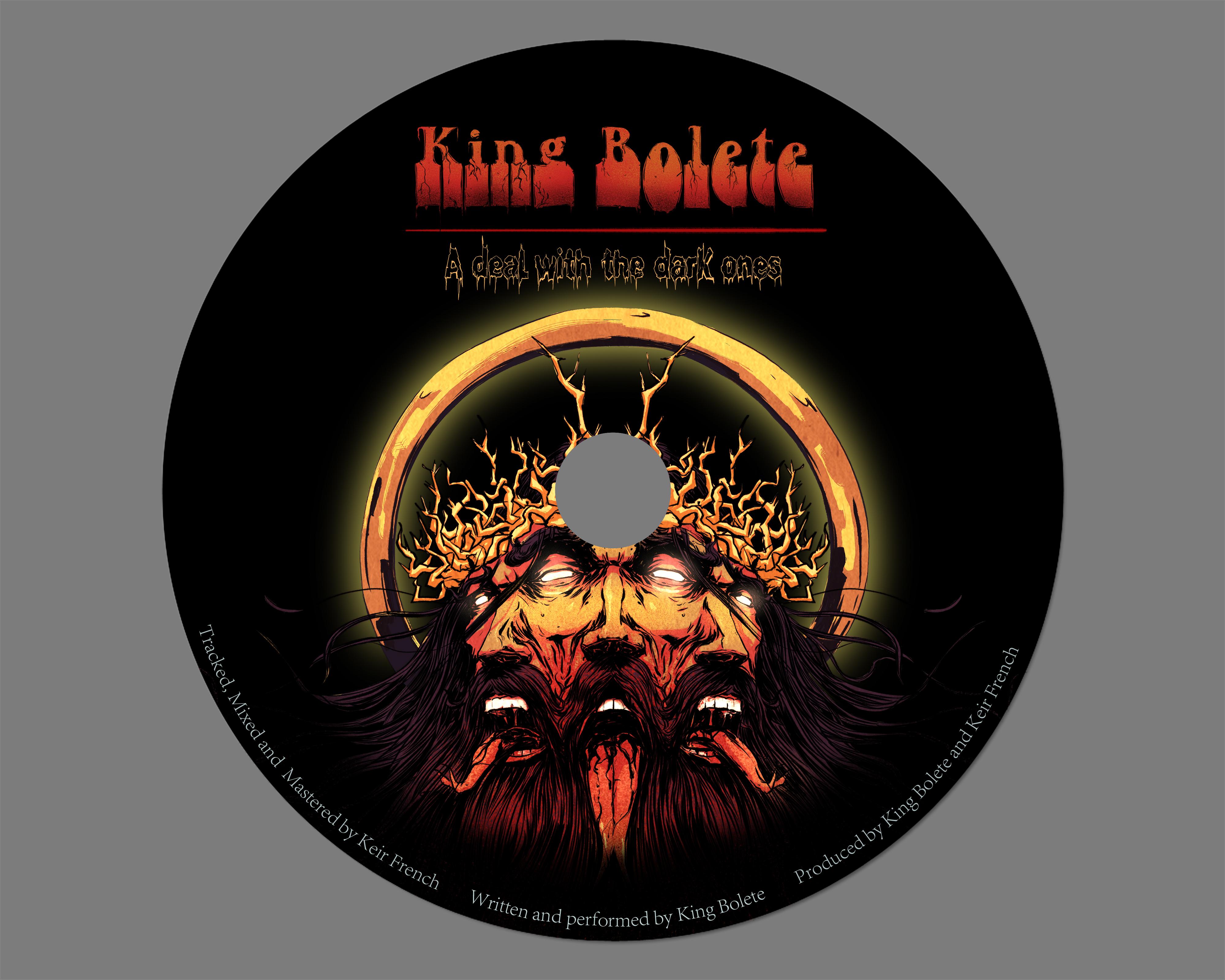 cd design King bolete
