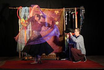 Eole, mythologie, spectacle, compagnie oiseau lyre, la danse du vent