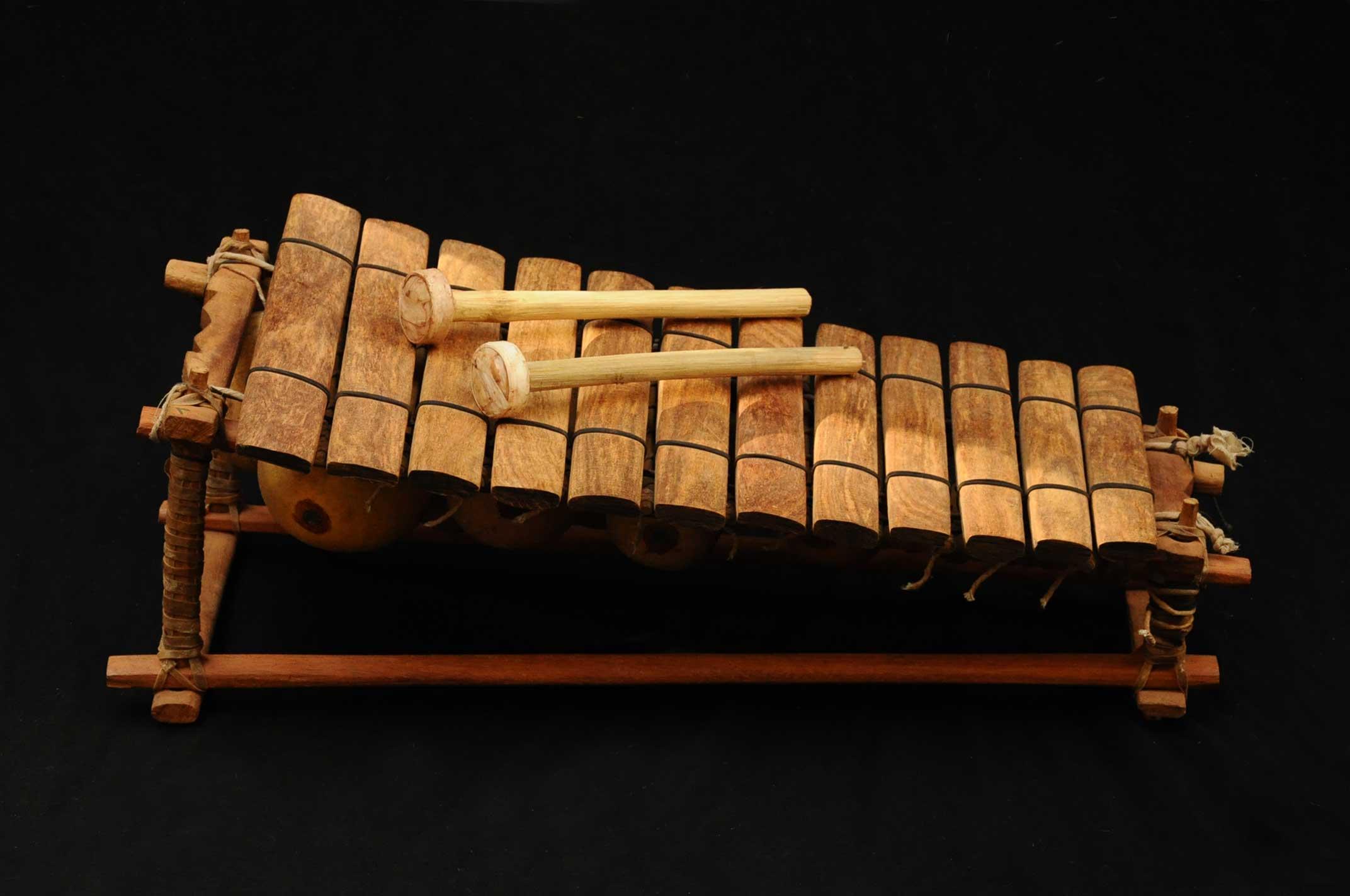 Balafon, xylophone africain