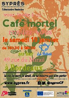 2019 démarre avec deux nouveaux RDV pour les Cafés Mortels à Bordeaux