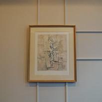 """""""Nature, Morte et la Guitare,""""Pablo Picasso, 1915"""