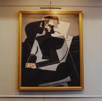 """""""Portrait of Josette Gris,"""" Juan Gris, 1916"""