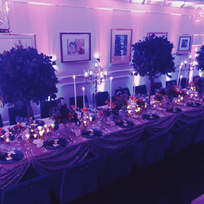 A private dinner of 22 for a client
