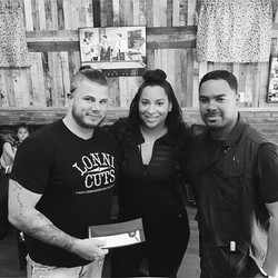 Help us give a huge thank you to Lonni Cuts Barbershop who has partnered up with us to gift TWO youn