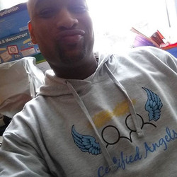 Shout out to DJ Nawtee for always supporting our mission! #hoodieseason #CertifiedAngels 💙