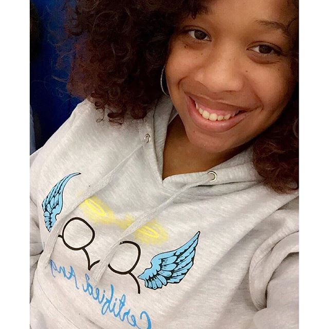 Thank you, Natasha for supporting Certified Angels & helping our youth spread their wings!! 💙👼🏼💙