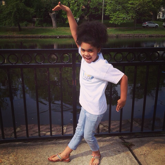 Instagram - Have you done your happy dance today? This little Angel was so happy