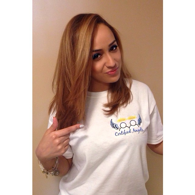 Instagram - Certified Angel @joleposh rockin her #CertifiedAngels tee because we