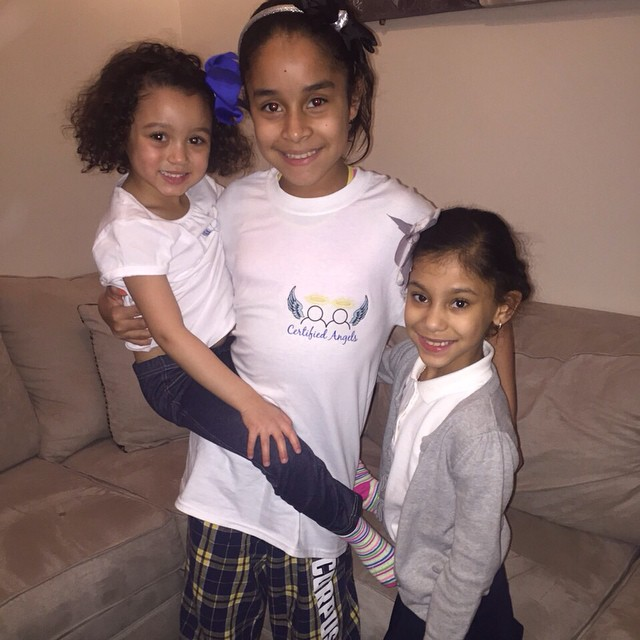 Instagram - Some of our #CertifiedAngels princesses rocking their CA tees 😍💙