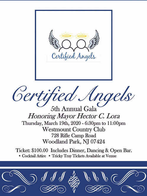 Certified Angels 5th Annual Gala