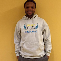 Thank you, Trevon for supporting Certified Angels + helping our youth spread their wings!! 👼🏼💙👼�