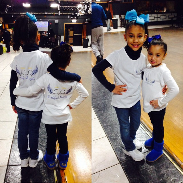 "Instagram - A special thank you to Savannah & Jazzy  for ""Helping Our Youth Spre"