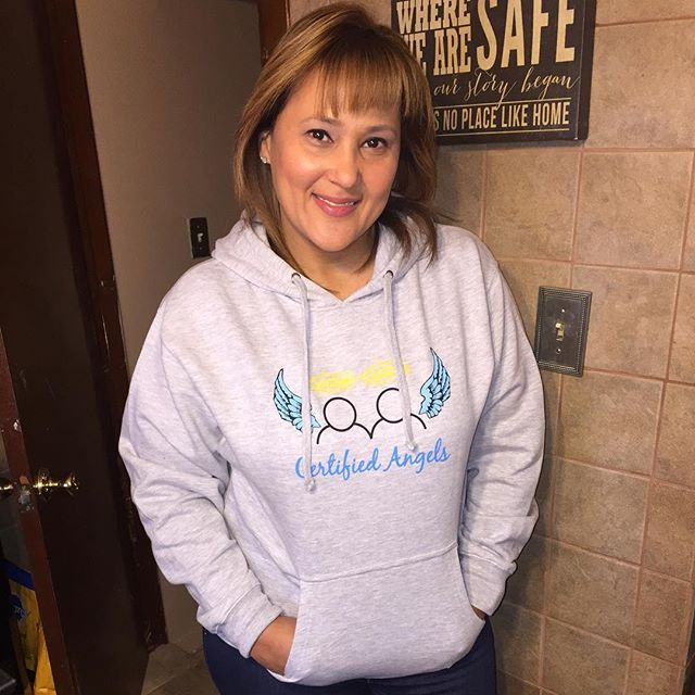 Thank you, Lizzy for always supporting Certified Angels & helping our youth spread their wings!! 💙�