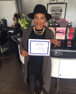 This is Reyna Skeek! Certified Angels is honored to announce Sheek Studio in Passaic will be sponsor