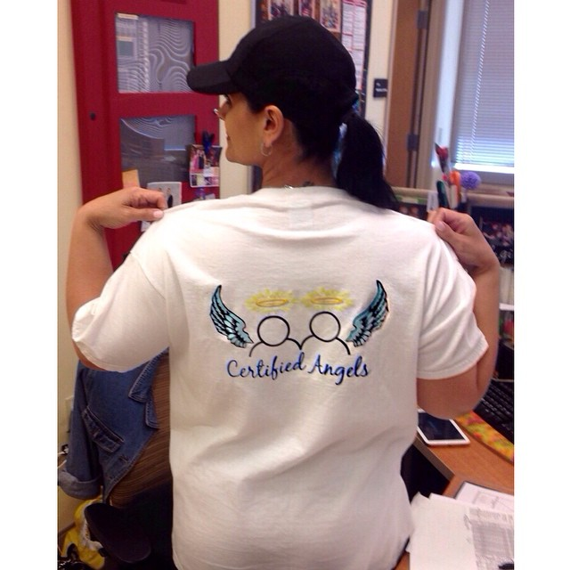 Instagram - 💙👼 Thank you Alicia Esther for helping our youth spread their wing