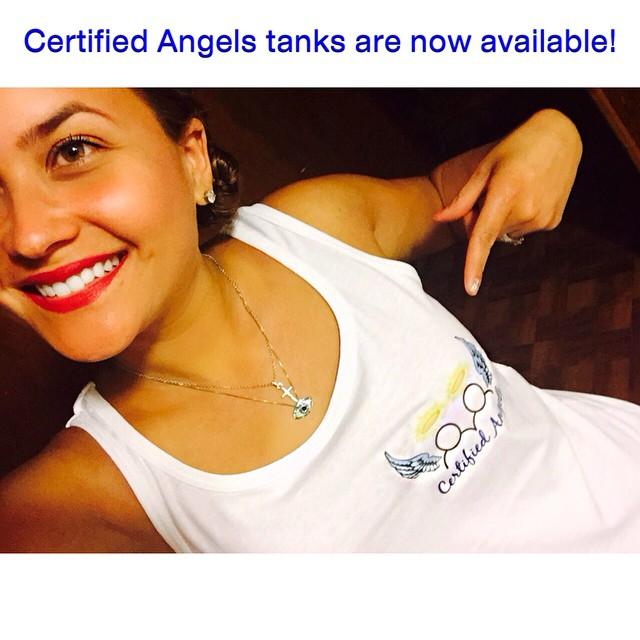 Instagram - Certified Angel @candiimandii rockin' her new #CertifiedAngels tank