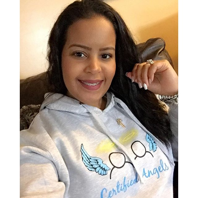 Thank you, Gionelly for supporting Certified Angels & helping our youth spread their wings!! 💙👼🏼�