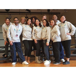 Daniel F Ryan School 19's crew proudly wearing their Certified Angels hoodies