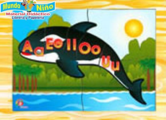ROMPECABEZAS ORCA VOCALES