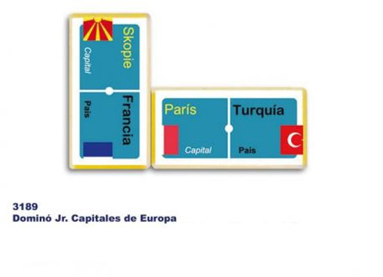 DOMINO JR CAPITALES DE EUROPA