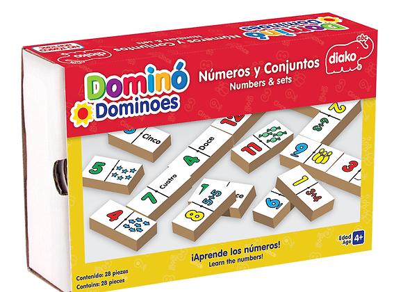 DOMINÓ NÚMEROS Y CONJUNTOS