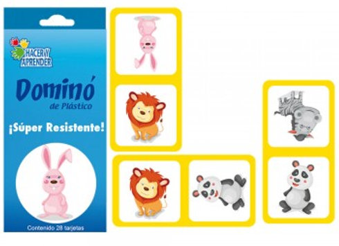DOMINO DE ESTIRENO ANIMALES
