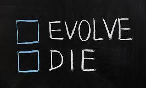 Do not fear, evolve.