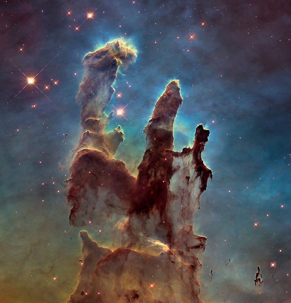 "photo credit: ""pillars of creation"""