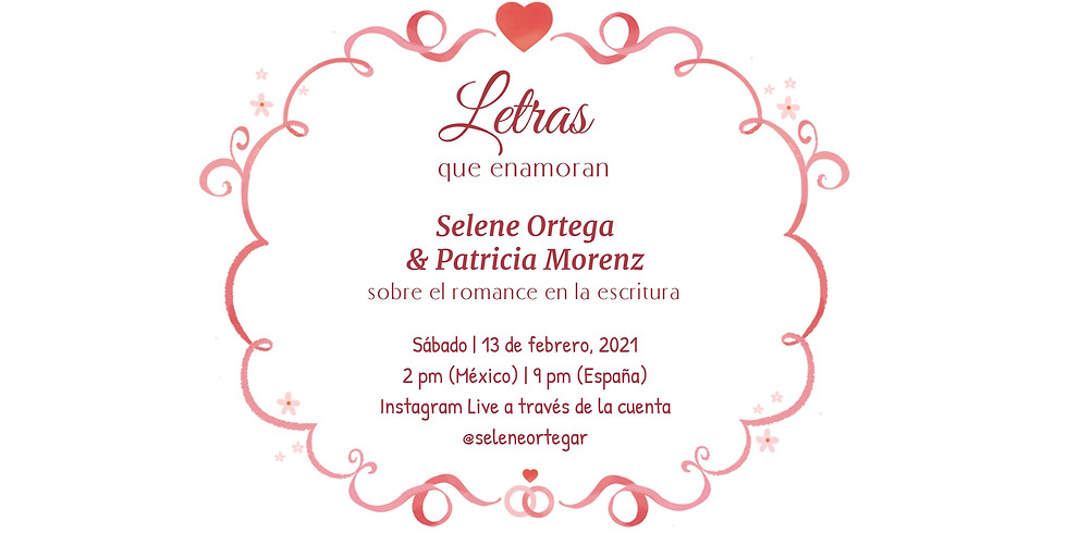 """""""Letras que enamoran"""" Instagram Live"""