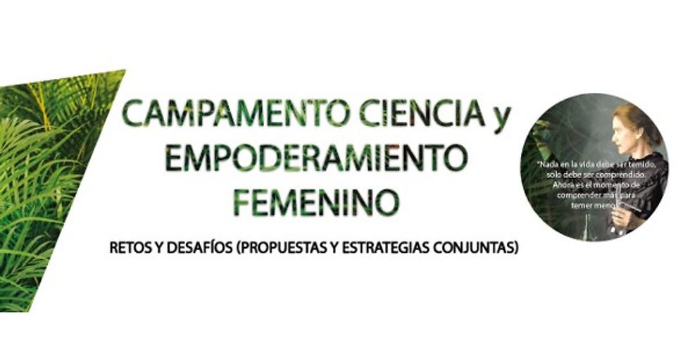 Campamento Ciencia y Empoderamiento Femenino