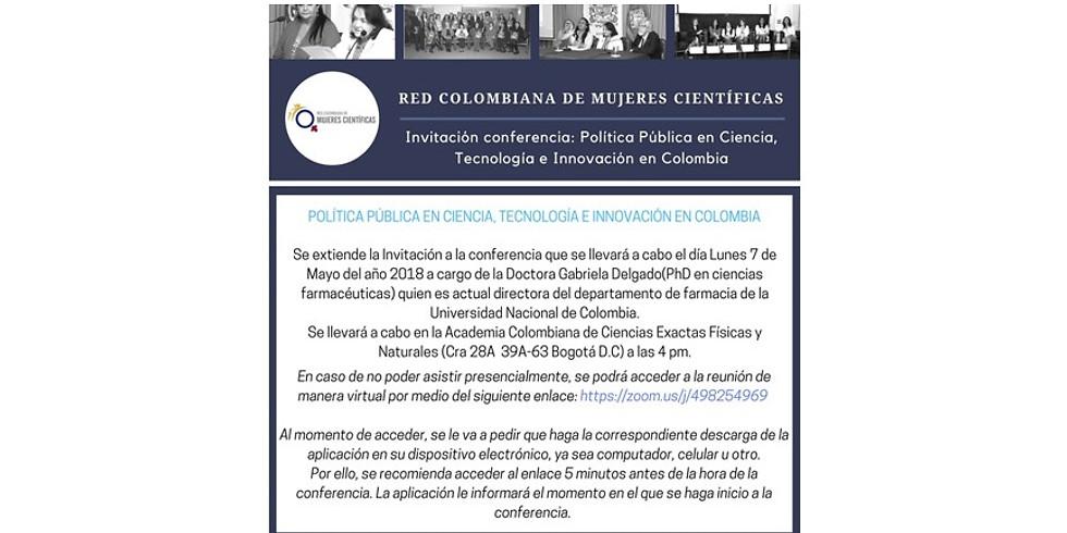 Política pública en ciencia, tecnología e innovación en Colombia