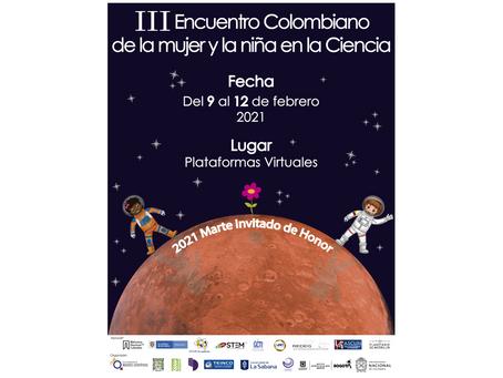 III Encuentro Colombiano de la mujer y la niña en la Ciencia