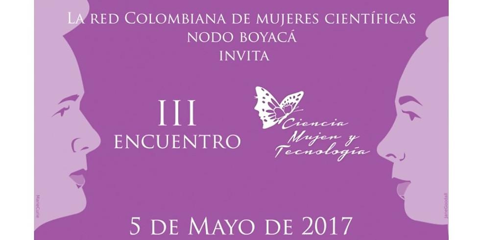 III Encuentro Ciencia, Mujer y Tecnología (1)