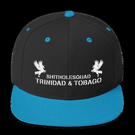 Shithole Trinidad black snapback.png