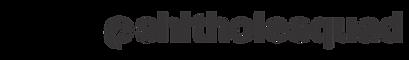 shitholesquad logo twitter and insta PNG