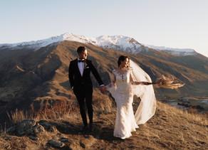 Anna + Jerram's Winter Wedding