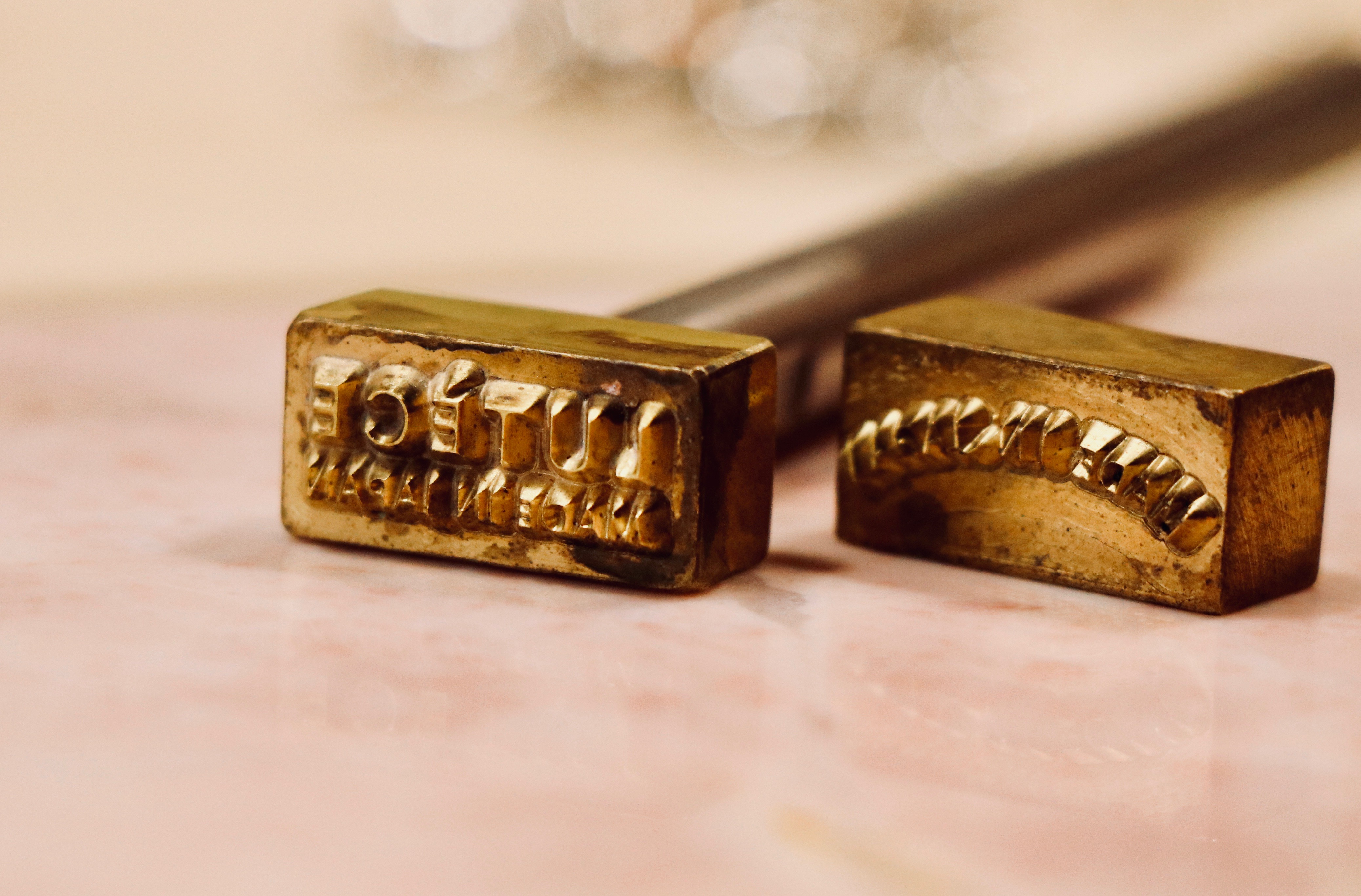 真鍮オリジナル刻印