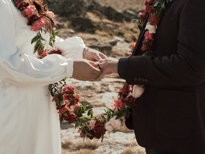 Hollie + Mikey elope w/ The Lovers Elopement Co.
