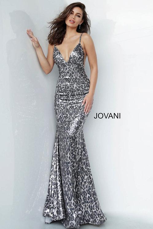 Jovani 4087 Animal Print