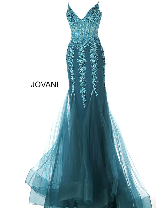 Jovani 56032 Teal