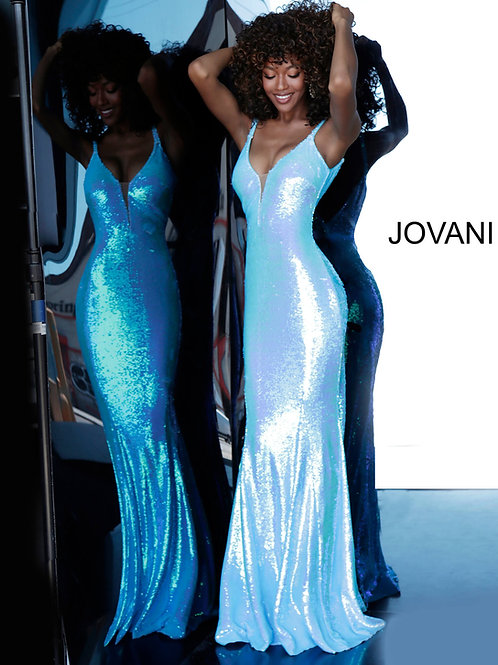 Jovani 65070 Blue