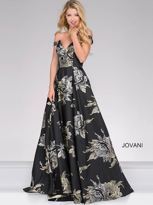 Jovani 48361 Black