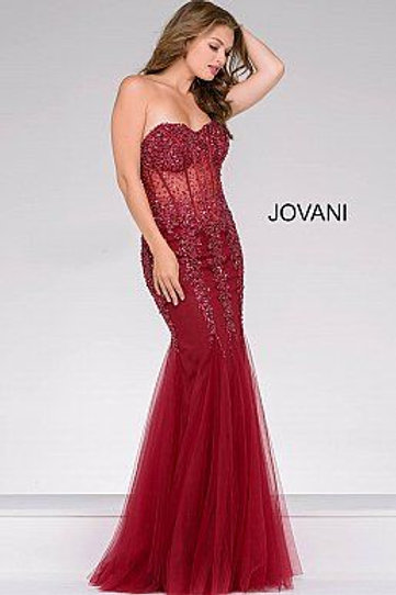 Jovani 5908 Red/Red