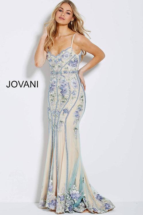 Jovani 55816 Multi/Nude